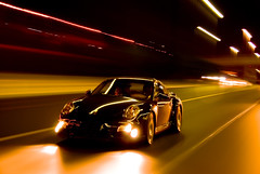 Porsche turbo (Fahad Al Nusf) Tags: street longexposure 2 black cars car wheel night digital speed nikon highway long exposure nightshot performance turbo ku porsche kuwait 2008 fahad adv onroad q8 997 advertise longexposures kwt porscheturbo nikon18200mm 2sec d80 aplusphoto fenyn alnusf alfulaij