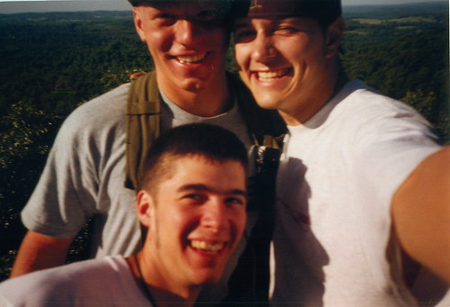 Tim, Chris and Nate - Hiking