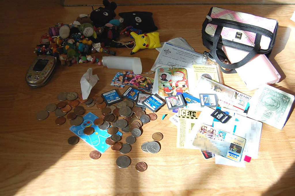 WIMB: 080101 - I know what you're thinking and yes...all of that fits in my purse...
