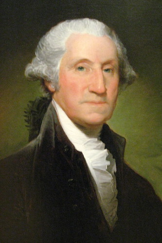 """Gilbert Stuart's George Washington"" by WallyG on flickr"