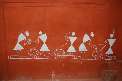 Kaushiks most interesting flickr photos picssr warli art altavistaventures Image collections