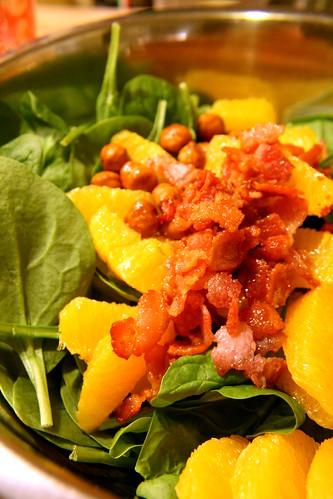 spinach salad, alfreddo 002