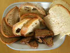Homemade bread assortment - Surtido de pan casero (Ibn) Tags: bread pain rye pan sourdough brot brood centeno rogen sauerteig milkloaf
