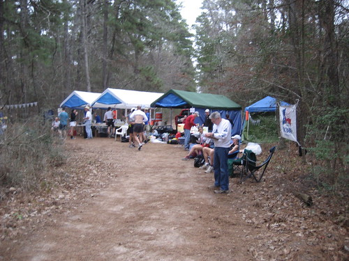 2008 Rocky Raccoon 100 Dam Road Aid Station
