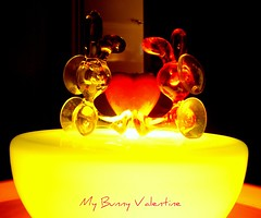 My Bunny Valentine (indigo_girl) Tags: red bunny love yellow happy heart song valentine chetbaker myfunnyvalentine citrit