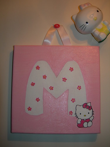 Letra com Hello Kitty 3