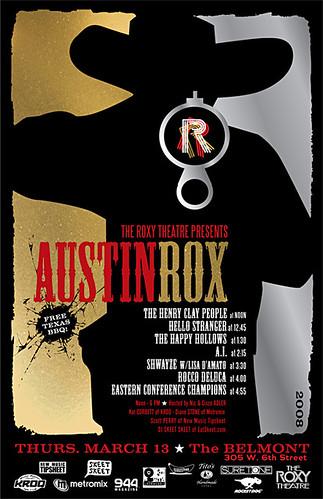 AustinRox SxSW - 3/13