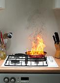 vlam in de pan - brandweerkunde