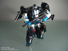 "Autobot: Mirage (Joriel ""Joz"" Jimenez) Tags: toys transformers mirage autobot alternators 80scartoons jorieljimenez anythingtransformers"