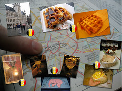 Brussels (gamblingcat) Tags: brussels dog greek corn awesome mais grandpalace leffe waffles gyro deliriumcafé