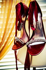 SHOES (lishagisha) Tags: wedding applered decou
