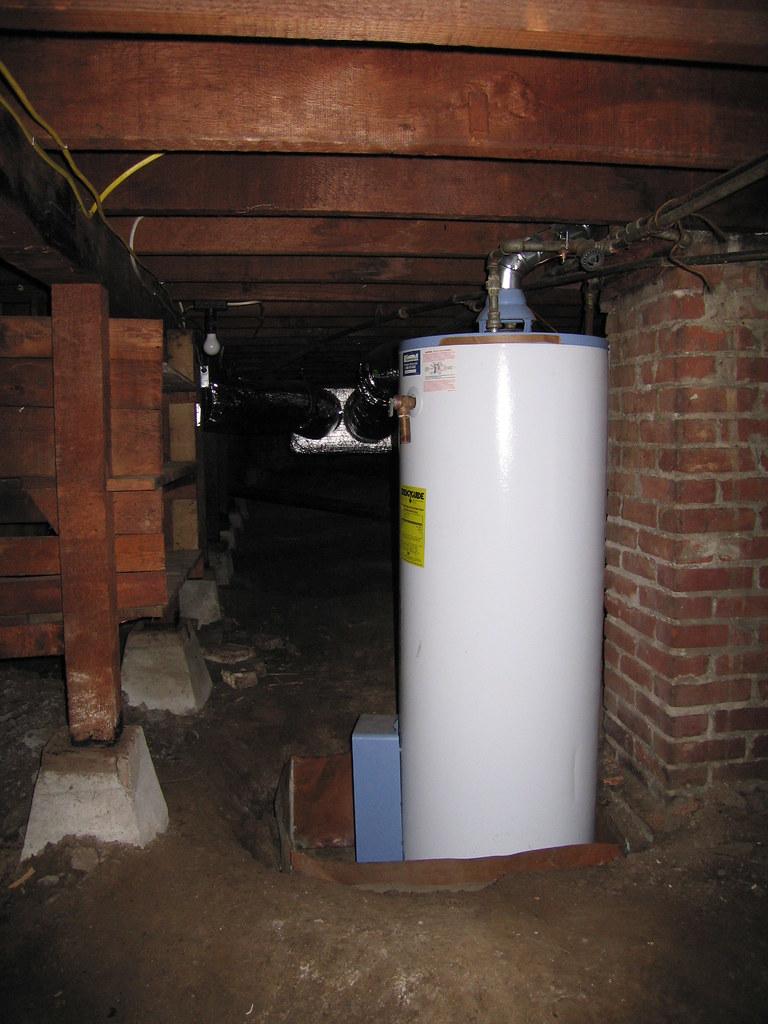 (e) water heater
