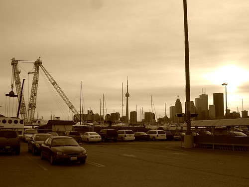 Toronto Skyline from the Docks