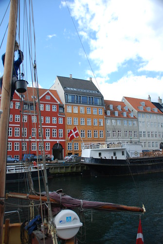 Nyhavn (New Harbour/Haven) in Copenhagen, Denmark