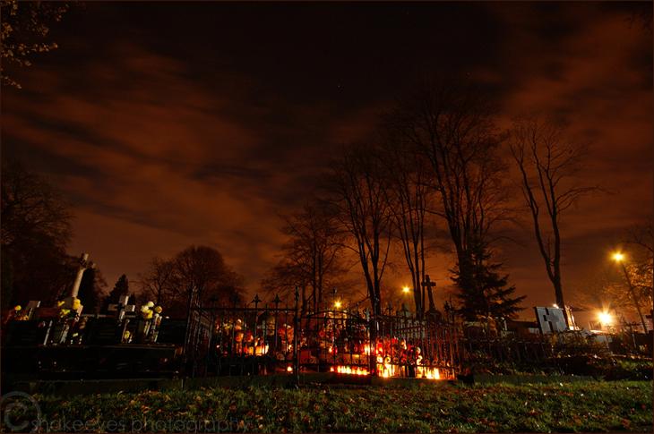Stary Cmentarz - noc
