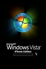 Windows Vista Iphone edition Wallpaper