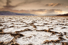 Very Bad Water (Steve Corey) Tags: badwater basin deathvalleynationalpark saltflats hexagonal benzinering spooky droh dailyrayofhope
