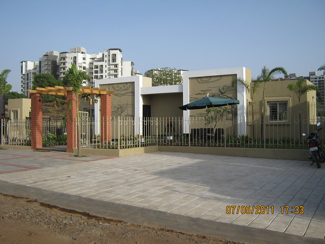 Site Office of Alcon Signare - 2 BHK & 2.5 BHK Flats at Kondhwa Budruk - off NIBM Road - opp. Sai Service Station - Pune - 1