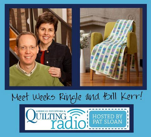 Pat Sloan for APQ Radio guests Weeks Ringle and Bill Kerr