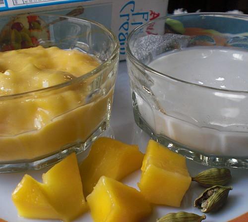 Dessert recipe - Firni