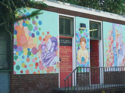 mural, Queen E