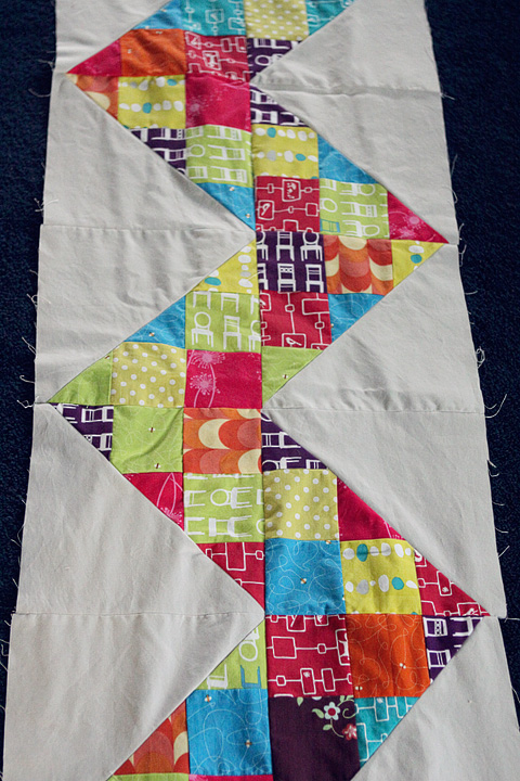 sew fun 2 quilt started