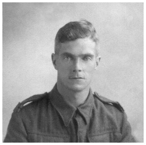 Private Harry Brown of East Kirkby , Nottinghamshire.  A pre-Dunkirk photograph .