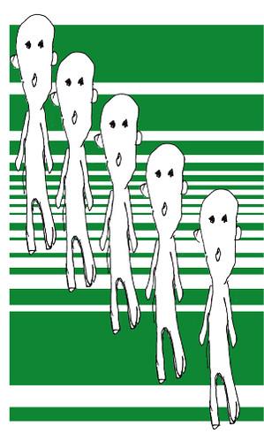 白いヒト green