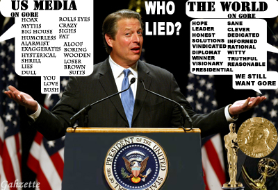 MSM LIED ABOUT GORE