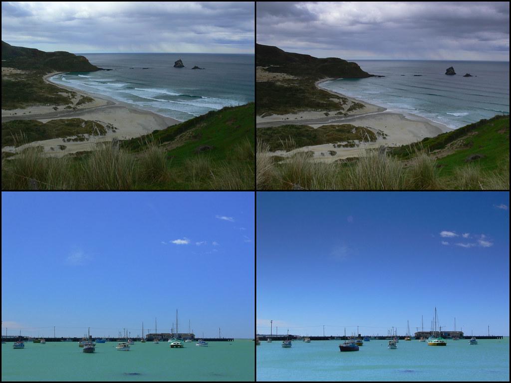Polariser vs GND filter