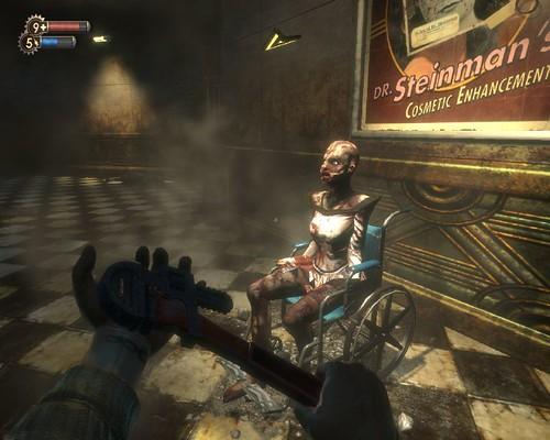 BioShock安排了許多讓你驚嚇的橋段