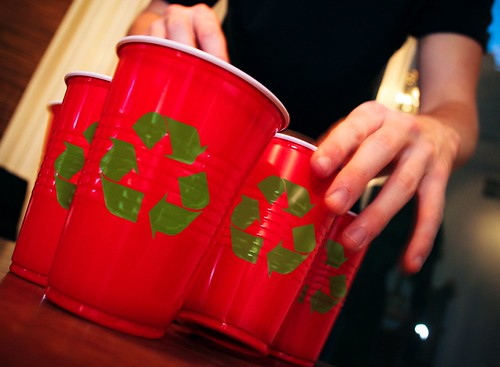 recycle these cups