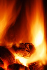 Keep the home fires burning (jogorman) Tags: light orange hot home fire cozy sticks log warm glow burning burn ashes stove toasty heat inferno hearth ember coal matches soe cosy homely firelight embers jamesogorman