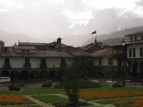 Foggy Plaza de armas