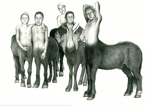 the NED centaurs of Narnia