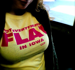 not everything is flat in iowa