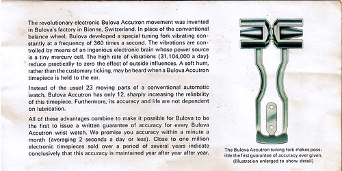 Bulova Accutron Marketing #2