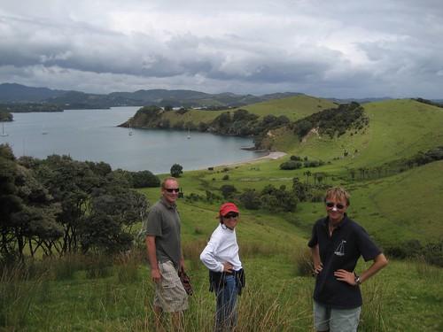 Urupukapuka bay with Ahti, Karin and Patty
