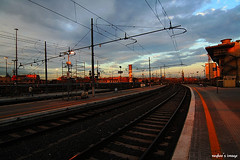 . (raykoo) Tags: sunset rome railway termini staion