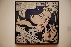 FLICKR: Roy Lichtenstein - 'Drowning Girl' (1963)