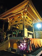 本立寺にて除夜の鐘