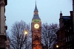 Big Ben at Twilight (RobW_) Tags: england london westminster big twilight december ben bigben clocktower friday 2007 dec2007 21dec2007