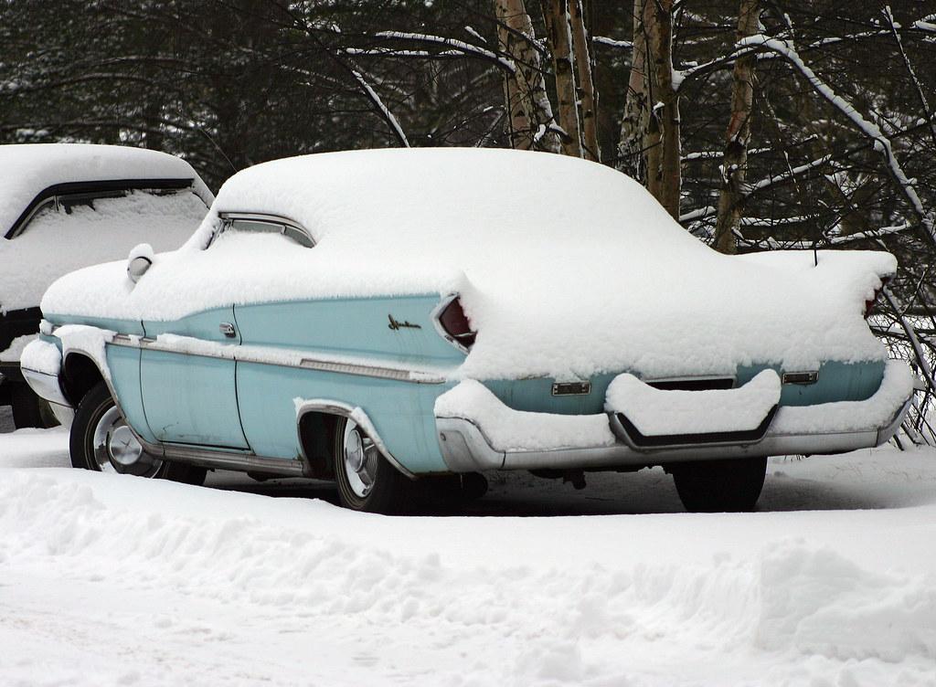 Snowed in DeSoto.