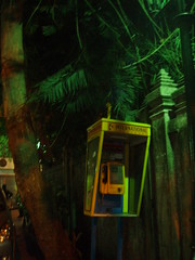 Phone booth in off-Khao San