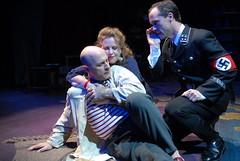 Mitchell Hébert, Katherine Clarvoe and Saxon Palmer (Nazi officer Albert Lucht) (theaterj) Tags: closet picassos