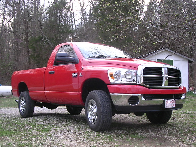 red truck indiana dodge ram cummins 2500 in