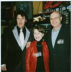 "Penny with 'Elvis' and David at the Newport - Fundraiser for the Food Bank • <a style=""font-size:0.8em;"" href=""http://www.flickr.com/photos/21584185@N07/2191890848/"" target=""_blank"">View on Flickr</a>"