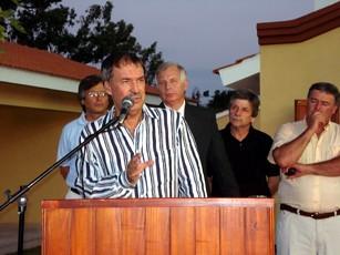 Gob. Ctdor. Juan Schiaretti, pronuncia su discruso