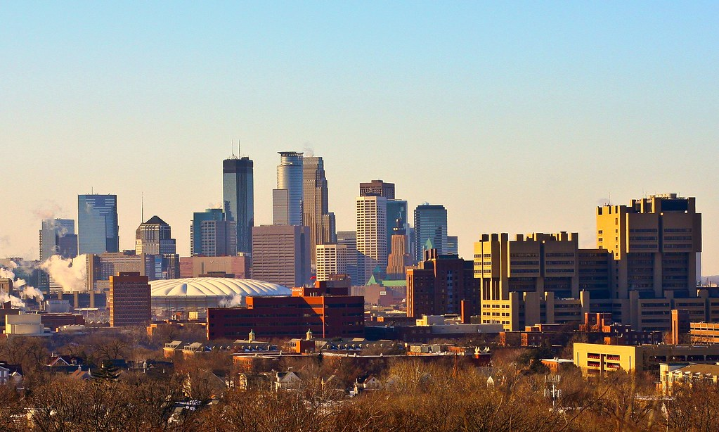 Minneapolis Skyline from Tower Hill Park by Tony Webster, on Flickr