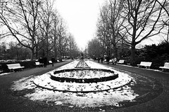 Zero (aenimation) Tags: street winter white black berlin zoo slice zero berlino
